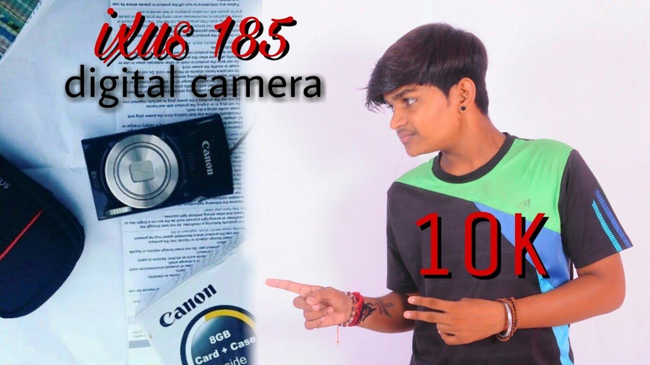 Ixus 185 Digital Camera Black