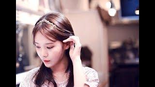 히게아 웨딩 헤어밴드 DIY WEDDING HAIRBA…