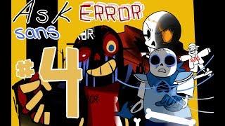 Ask Error! Sans 【Comic Dub】Part 4: Underswap (1/2)