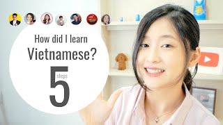 【ベトナム語】私の学習方法   MÌnh học tiếng Việt như thế nào?   How did I learn Vietnamese?