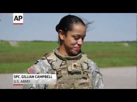 army tests body armor made for female soldiers youtube