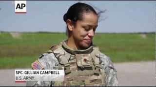 Army Tests Body Armor Made for Female Soldiers