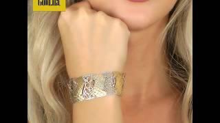 видео золотые браслеты в интернет магазине