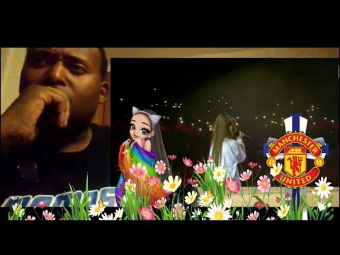 Ariana Grande -  Somewhere Over The Rainbow Live {Manchester Tribute} (Reaction) So Emotional!!!