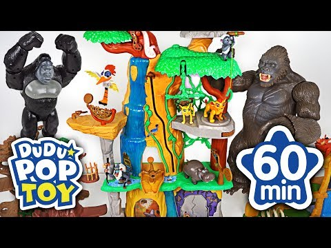 August 2018 TOP 10 Videos 60min Go! Lion guard, Avengers, PJmasks and Transformers - DuDuPopTOY