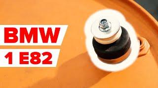 Toronycsapágy szilent csere BMW 1 Coupe (E82) - kézikönyv