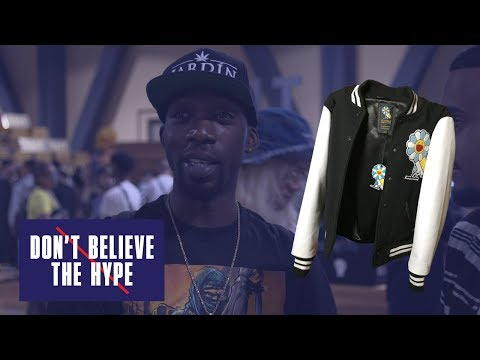 Drake's OVO X Murakami Varsity Jacket Feat. Stevie Williams: Don't Believe The Hype, ComplexCon