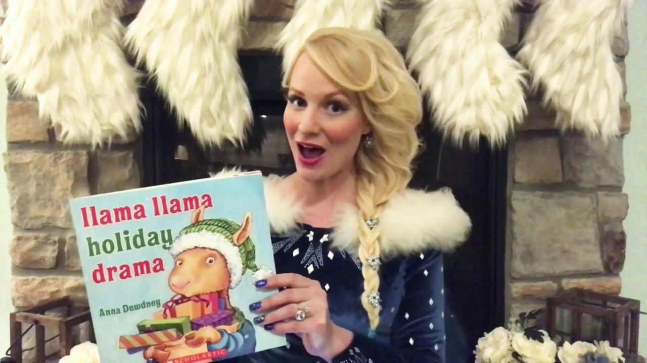Elsa raps Llama Llama Holiday Drama!