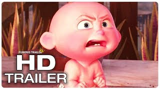 Incredibles 2 Jack Jack Attacks His Father Trailer NEW (2018) Superhero Movie Trailer HD