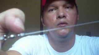 Como Montar Um Chicote de Pesca Prá Pescar Corvina e Robalo