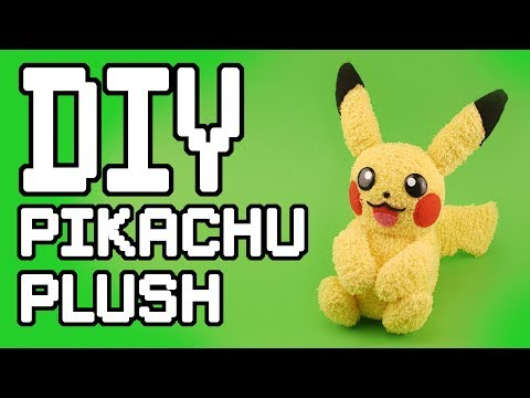 Pokemon : Pikachu Plush DIY Tutorial