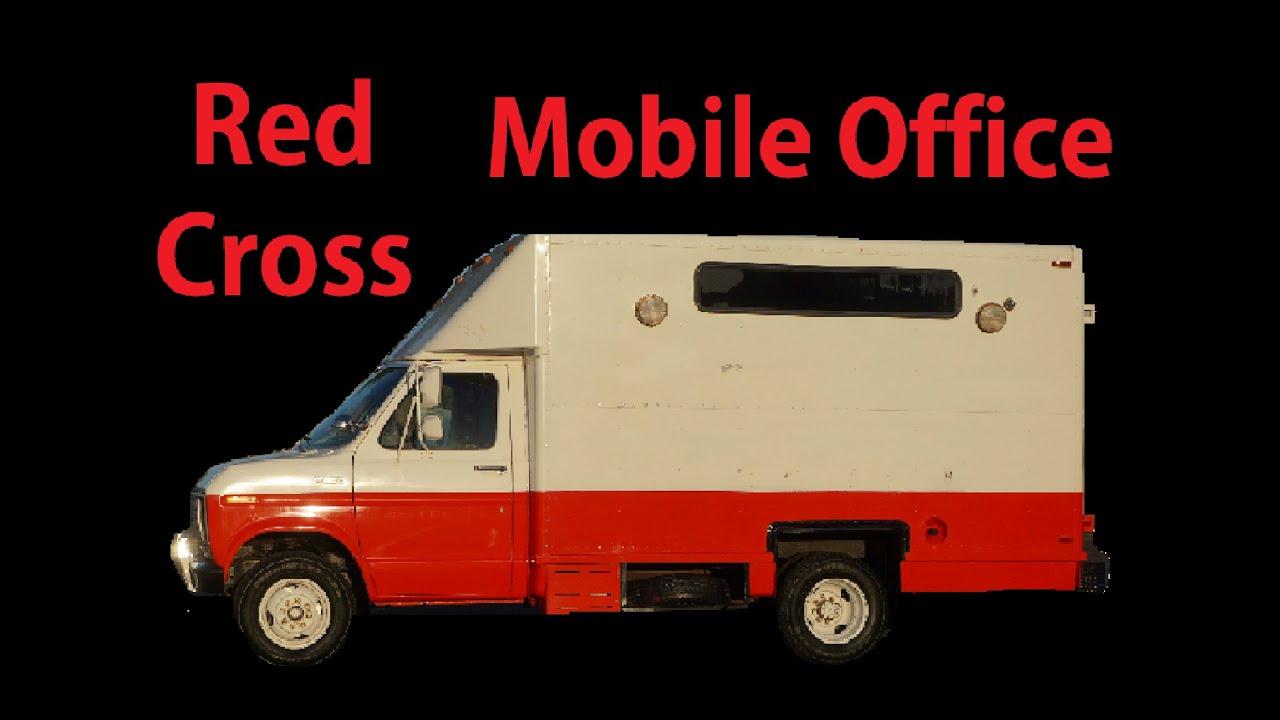 Conversion Cutaway Van RV Camper Mobile Office