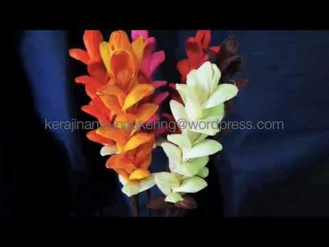 Kerajinan Bunga Kering Themesong Dewa19 Bunga M4v