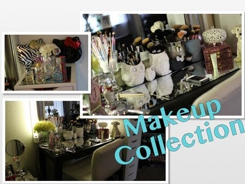 Makeup Collection Room Tour Youtube