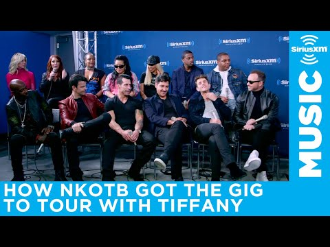 New Kids On The Block talk about how they landed the gig to open for Tiffany