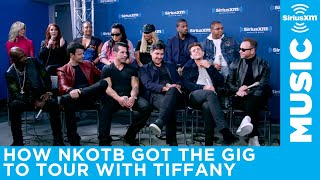 New Kids On The Block talk about how they landed the gig to open for Tiffany Video