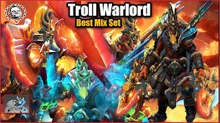 Troll Warlord Best Mix Set Plunder of the Savage Monger + Bitter Lineage