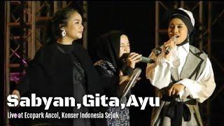 Sabyan ft Gita Gutawa, Ayuenstar - Ya Maulana   Konser Indonesia Sejuk
