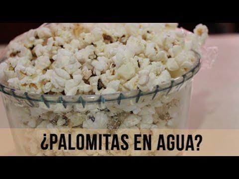¿Palomitas en agua? - SIN ACEITE/SALUDABLES