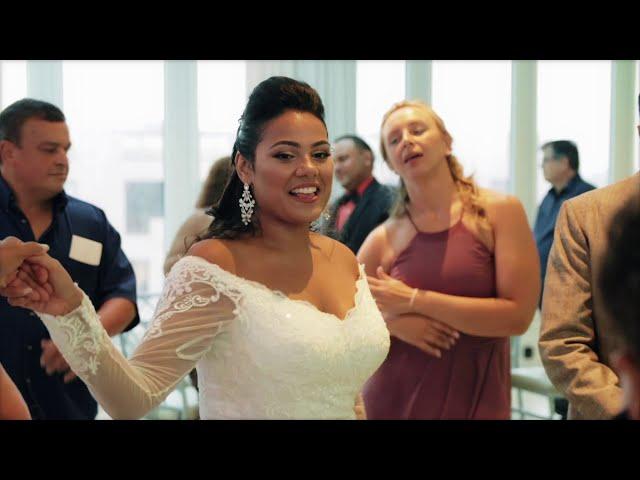 Latin Wedding DJ | Luz & Micheal Wedding Video | NJ Wedding DJ, photography & video by TWK