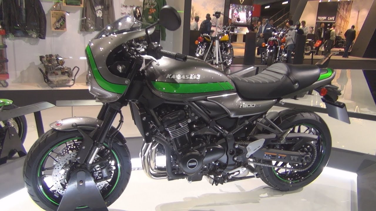 kawasaki z900 rs metallic graphite gray 2019 exterior and interior youtube. Black Bedroom Furniture Sets. Home Design Ideas
