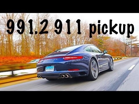 Porsche 911 991.2 dealer pickup
