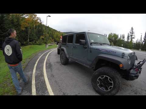 Exploring New Hampshire Off Road in a Jeep Rubicon X