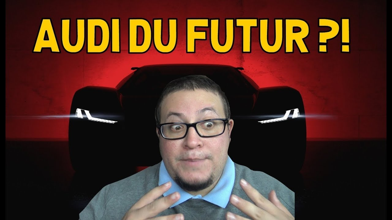 AUDI DU FUTUR ??!! PB18 e-Tron - La Minute Actu ep.22 - alexsmolik