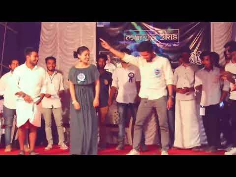ക്വീൻ ടീം  കോളേജ് പൊളിച്ചടുക്കുന്നു . Queen movie saniya Podiparana song dance