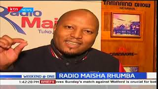 Radio Maisha fans meet with their favorite presenters at the Rhumba night festival