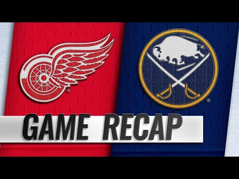 Sabres ride big 2nd to 3-1 win against Red Wings