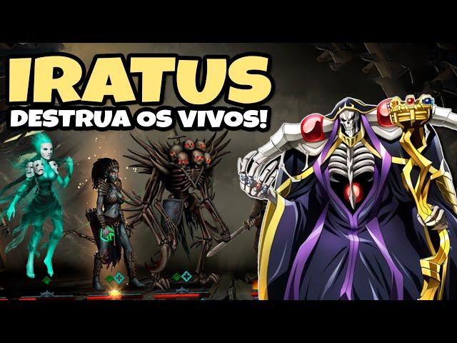 COMANDE os Mortos-Vivos! CONQUISTE os Vivos! [Iratus] | Gameplay Português PT-BR