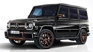 Mercedes-AMG G65 Final Edition powerful and refined