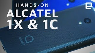 Alcatel 1X & 1C Hands-On at CES 2019