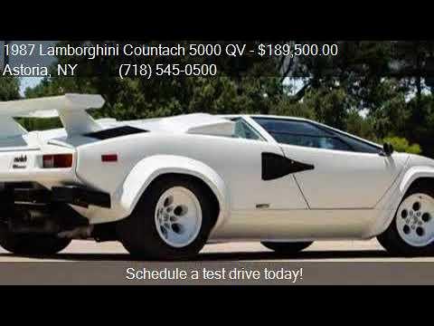 1987 Lamborghini Countach 5000 Qv For Sale In Astoria Ny 1 Youtube