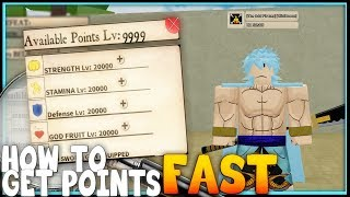 Roblox Ro-Piece | HOW TO GET POINTS FAST