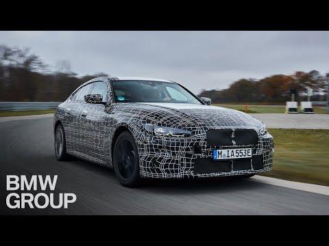 BMW i4 - testy w kamuflażu