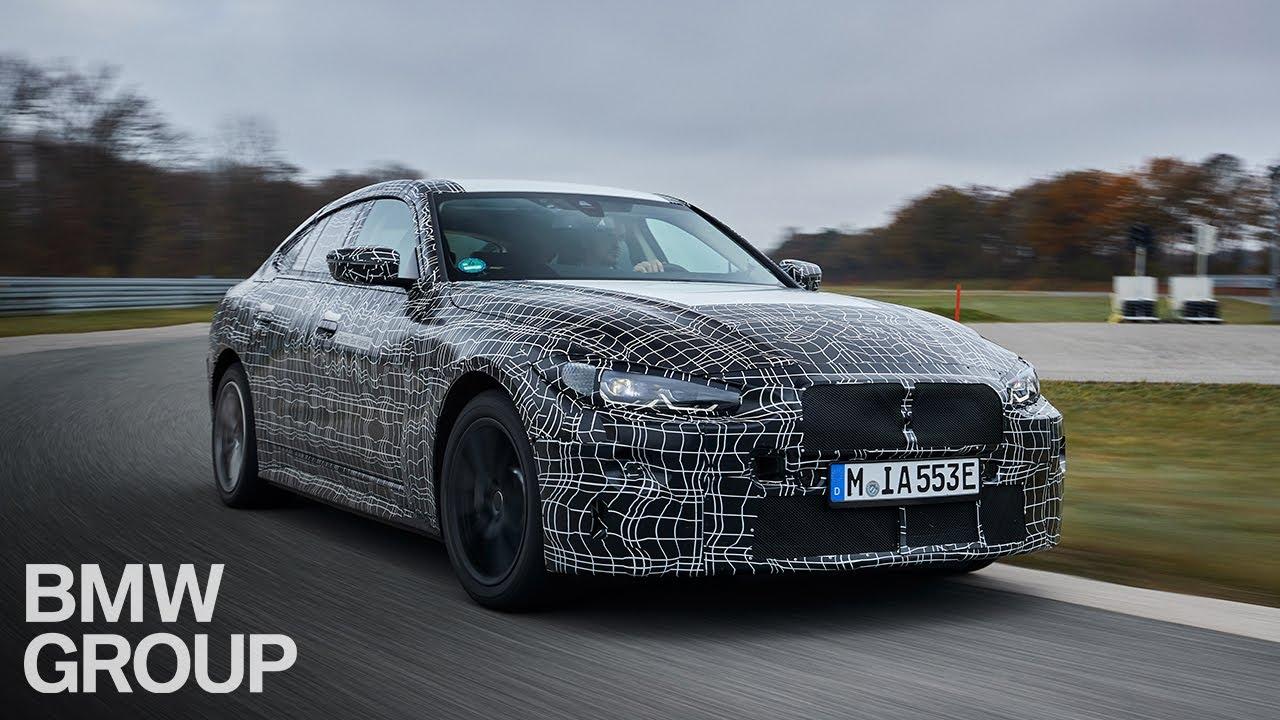 El nuevo BMW i4 - Calibración final y las pruebas