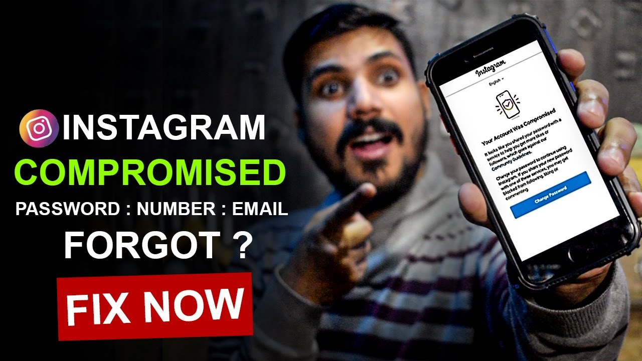 """How to Fix """"Your Account Was Compromised"""" Instagram Hindi Urdu 2021"""