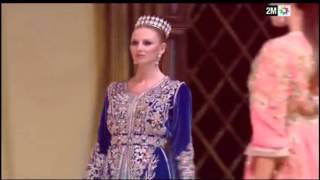 Caftan show 2016 : La collection de caftans haute couture signée Najia Benjelloun