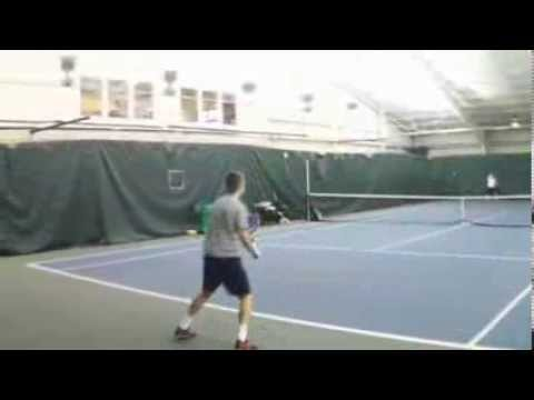 Kevin Goth Wexford, PA Tennis Recruiting Video