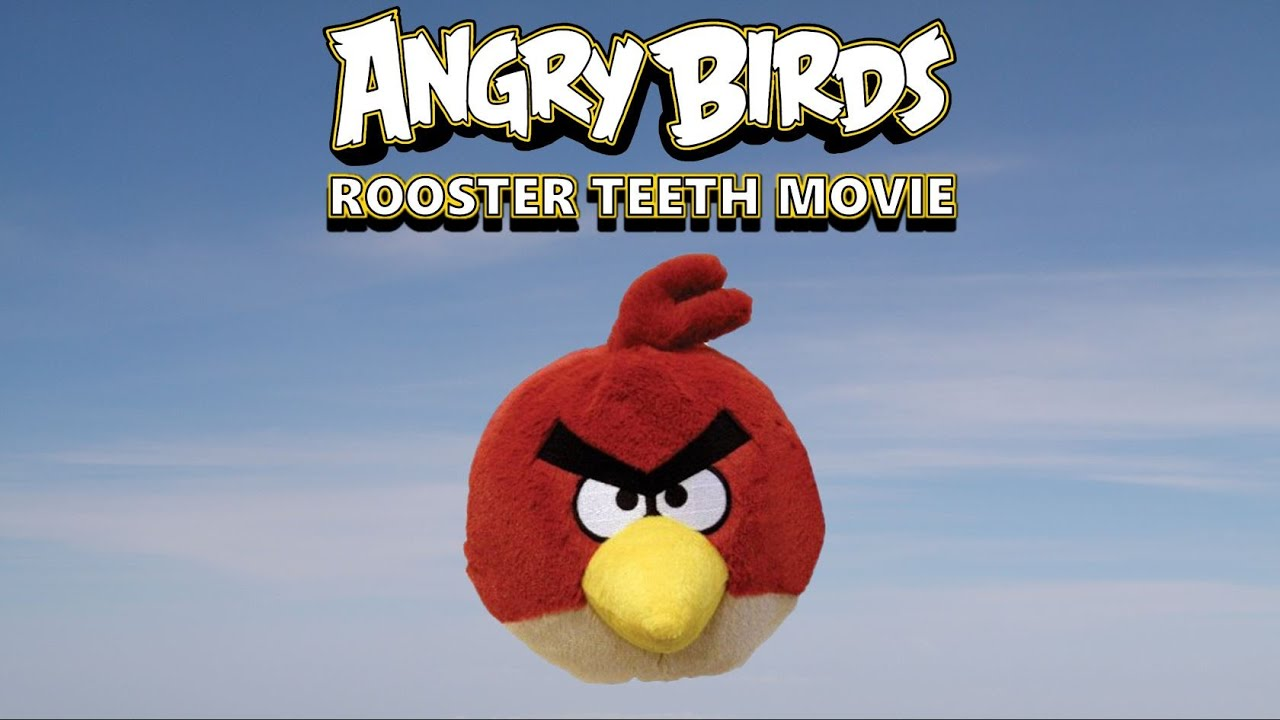 Angry Birds Rooster Teeth Movie (Plush Version)