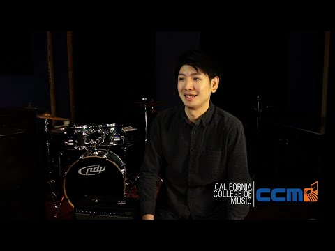 "California College of Music Student Spotlight: Soichiro ""So Good"" Tanabe (Drum Certificate)"