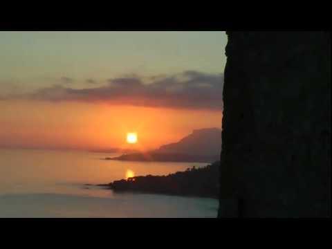 Antica via Julia Augusta tramonto da porta Canarda...
