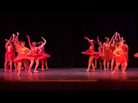 The Dance Factory, Springfield VT - Planet Glam - Choreography By Gretchen Abendschein