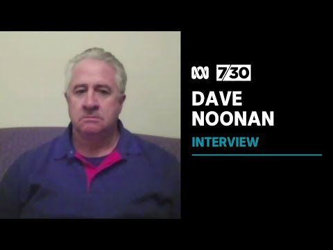 """CFMEU's Dave Noonan claim """"very few"""" union members were involved in Melbourne's protests   7.30"""