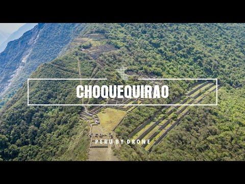 Choquequirao 4k - Peru by Drone