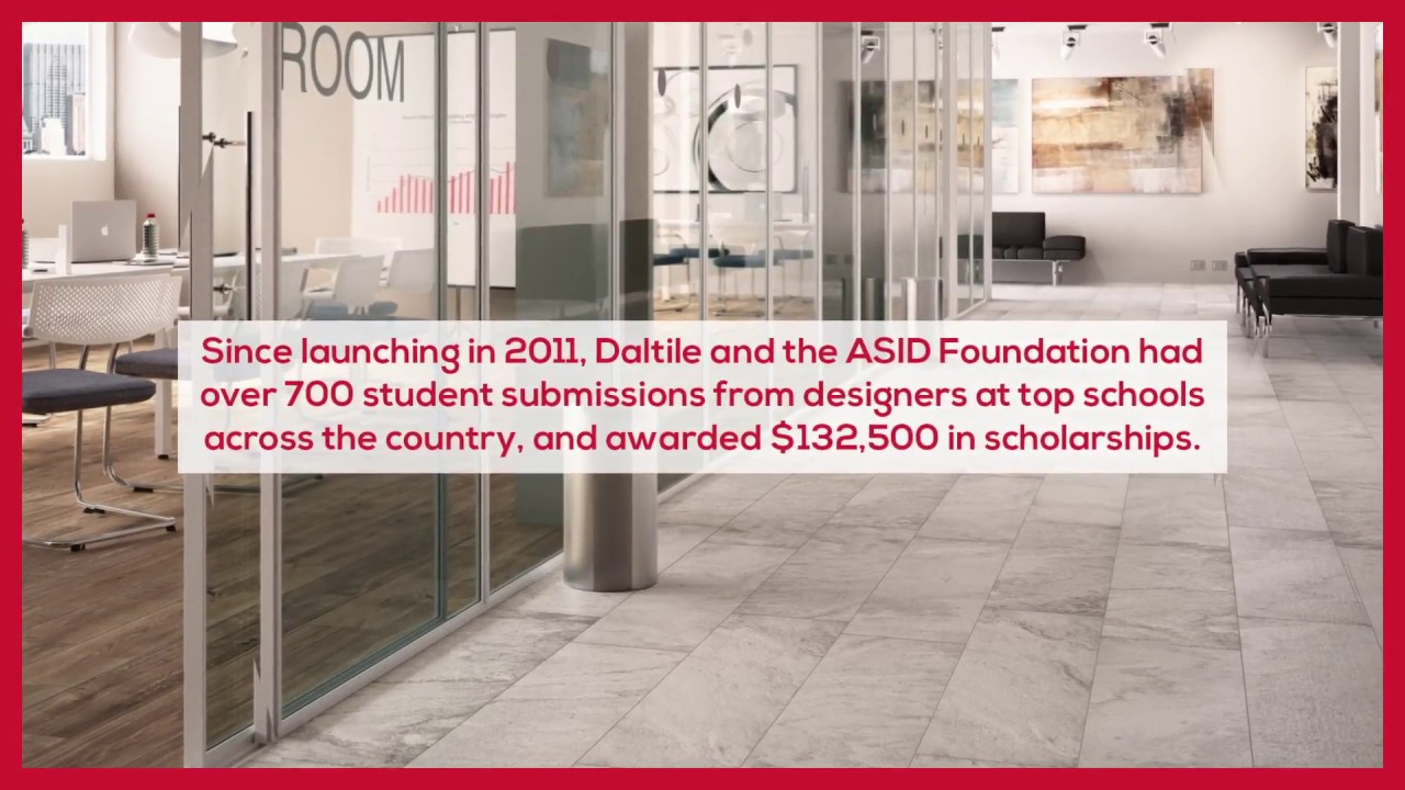 Daltile Interior Design Scholarship 2017