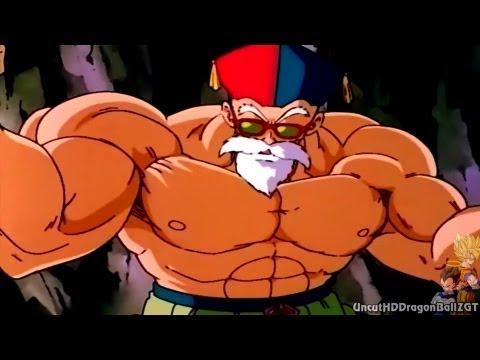 Master Roshi vs Broly (1080p HD)
