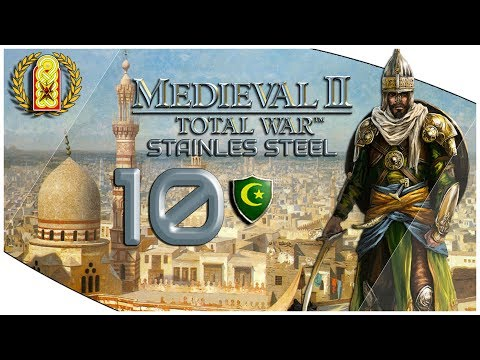 Medieval 2 Total War Stainless Steel Seljuk Empire Rise Campaign | PART 10 (Mod)